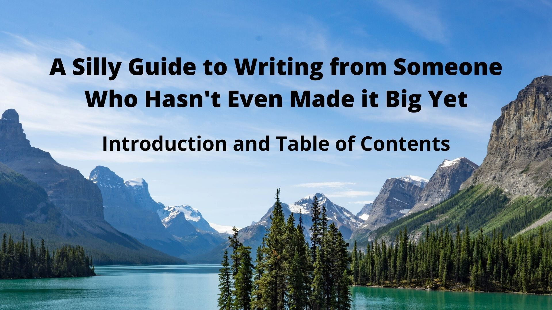 How to Write a Book | The Introduction and Table of Contents